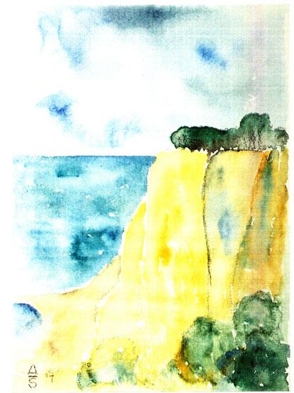 Alexander Schneider - Rügen-Cap Arcona, Abb.: Galerie+Atelier Remise