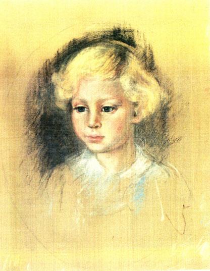 Ilse Kayser-Kuhn - Kinderportrait, Abb.: Galerie+Atelier Remise