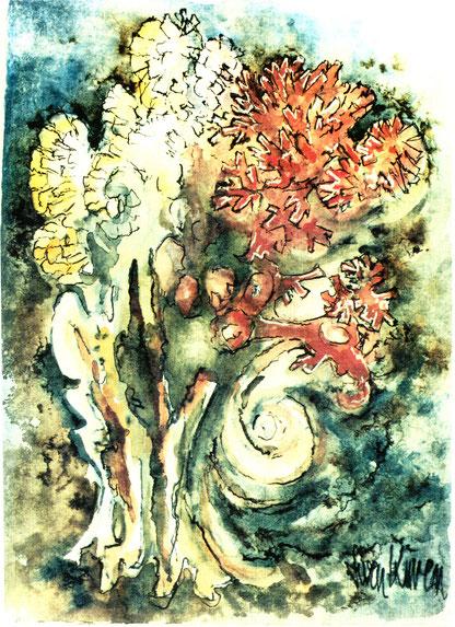 Sven Kuren - Blütenkomposition, Abb. Galerie+Atelier Remise