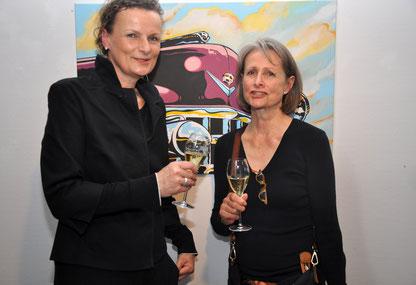 Initiative Elvis in Bad Nauheim v.li.: Beatrix van Ooyen und Ursula Buchner, Foto: Jürgen Wegener
