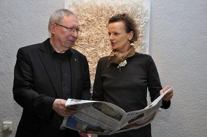 Elvis Fans und Gründer von ELVIS IN BAD NAUHEIM: Klaus Ritt und Beatrix van Ooyen