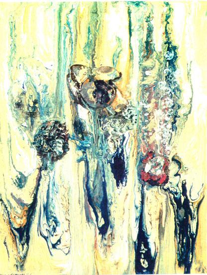 Hans Schuch - Plastische Blütenkomposition, Abb.: Galerie+Atelier Remise