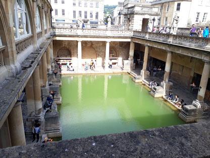 Das römische Bad...