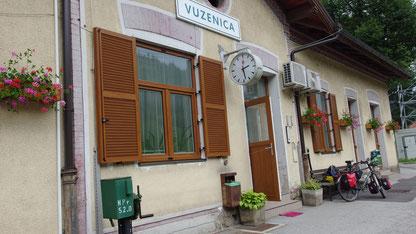 Vuzenica Bahnhof