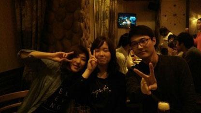 GIP의 모두를 환영해주는 일본 학생들