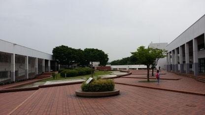 구마모토현립대학 교내