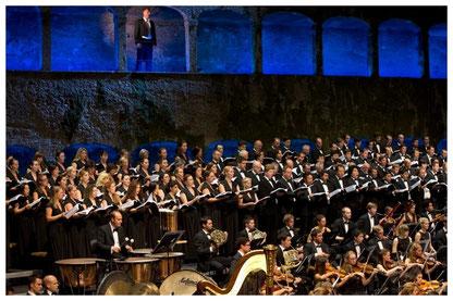 2013 Salzburger Festspiele, Rienzi, Konzertvereinigung Wiener Staatsopernchor, Foto: Lelli