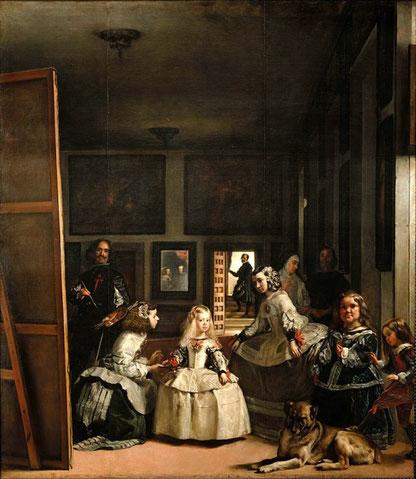 Менины - Диего Веласкес. Самые известные картины в мире