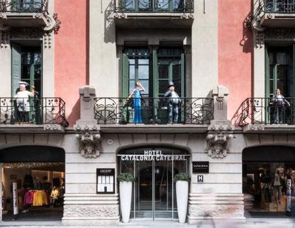 Готический квартал Барселоны - отели 4 звезды