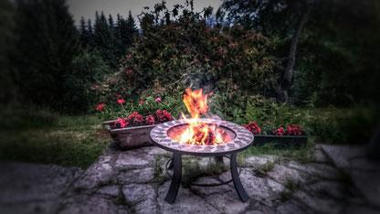 Sommerabend auf der Terrasse