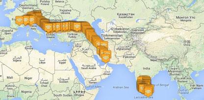 Un an sur les routes de ce mondes, 12 pays, 10 000 km, 14 fermes et ça continue!