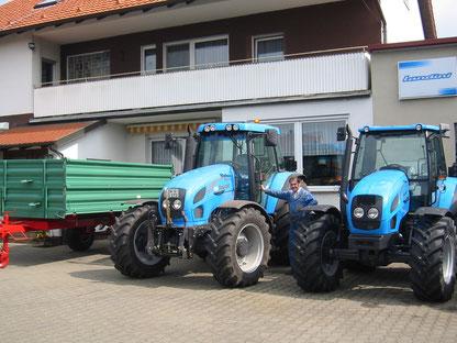 Bild Landini Traktor Schlepper Pickel Alitzheim Landtechnik