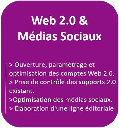 Web 2 Conseil Formation : agence de création et de production de stratégie Webmarketing sur les médias sociaux