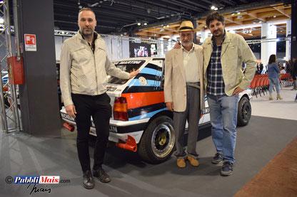 Tre uomini e una Lancia