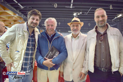 Con il grande capo, Cesare Fiorio