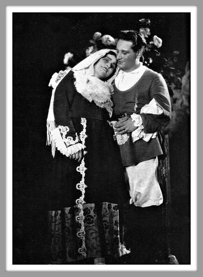 (Italo Montemezzi) - Giovanni Gallurese (ruolo titolo) con Maria Müller (Maria)