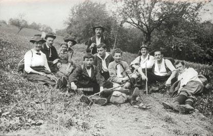 (c) NATURFREUNDE Göppingen, Wanderung 1933