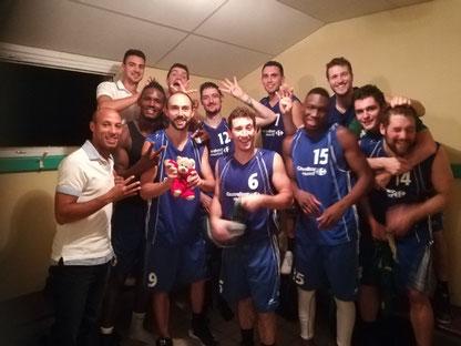 4ème victoire consécutive pour les bleus !