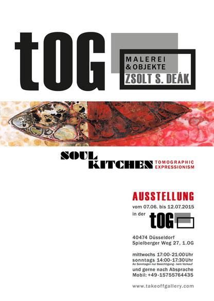 """""""SOUL KITCHEN"""", tomographic expressionism, Zsolt S. Deák, tOG, take OFF GALLERY, Galerie, Düsseldorf, Kunstraum, art, modern art, Expressionismus"""