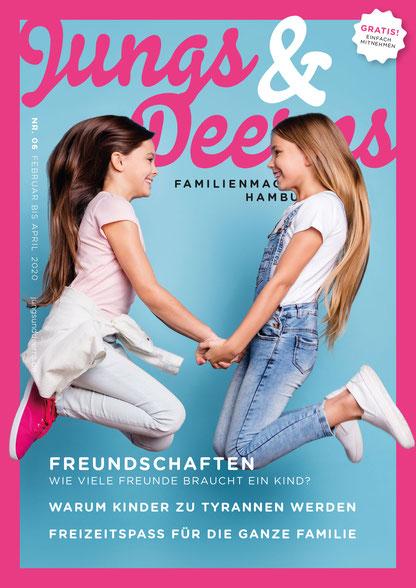 Jungs & Deerns Familienmagazin Hamburg Ausgabe 06-20