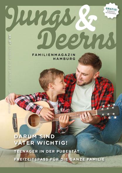 Jungs & Deerns Familienmagazin Hamburg Ausgabe 07-20