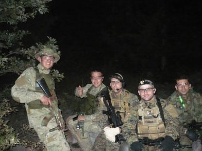 Foto con alcuni verdi appena attaccati