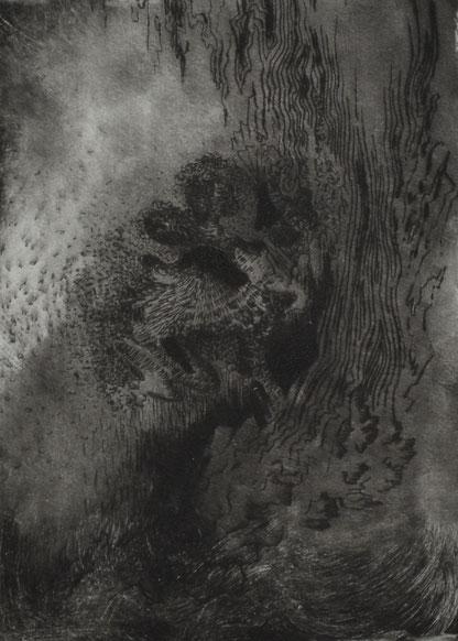 Worren. 21 x 15 cm. Engraving print on paper. 2018