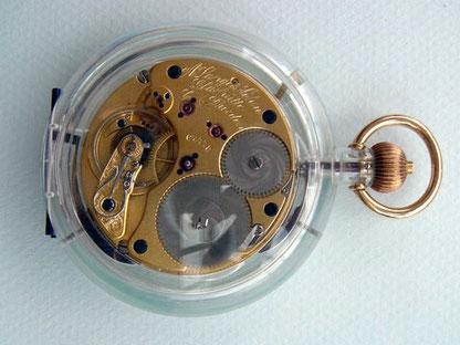 Demo-Version eines von  Steffen Pahlow restaurierten 1A ALS Ankerchronometers Kal. 47