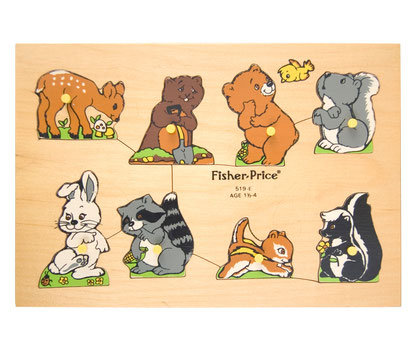 Fisher Price Holzpuzzle