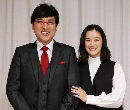 山里亮太(南海キャンディーズ)&蒼井優夫妻