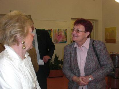 Kunst-Gespräche Freundin Lilo und Margarete