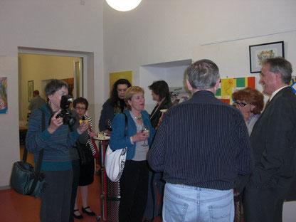 Gäste und Presse Fotografin