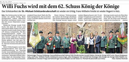 Dürener Zeitung 16.07.2014