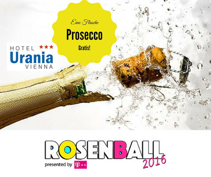 Hotel Urania heißt alle Rosenball 2016 herzlich willkommen