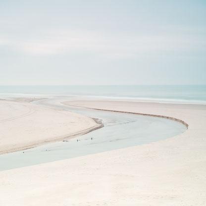 Fluss, Jutland, Denmark, Dänemark, Jütland, Flussmündung, Holger Nimtz, Nordsee, North  Sea, Henne Molle A, Fotokunst, Minimalismus, minimalism,