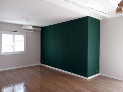 Couleur peinture vert bronze