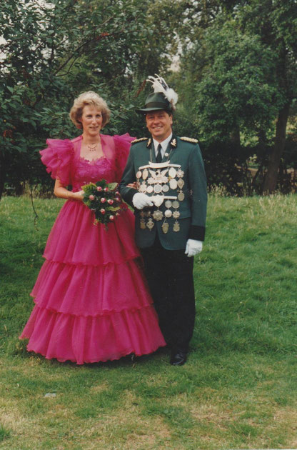 Kaiserpaar     Ulrich I      Brigitte I      1992-1995        Werner
