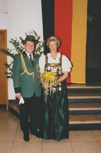 Königin Brigitte I  Prinzgemahl Ulrich  1995-1999  Werner