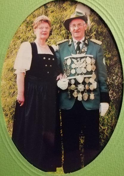 Königspaar  Karl-Heinz 1     Liesel 1  /Wittke    2002-2005