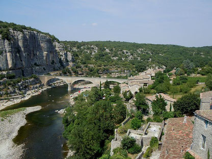 Le village de Balazuc