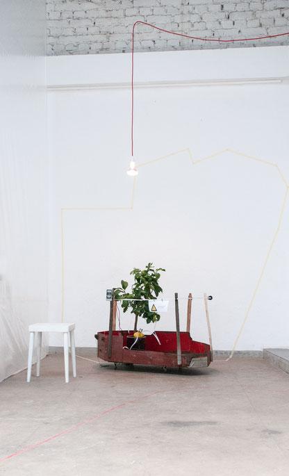 plusminus, Installation Fabrik 45, Bonn, 2014