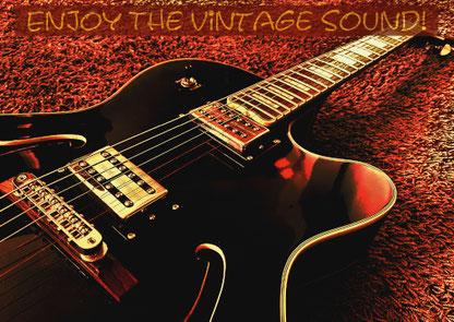 Enjoy The Vintage Sound! Jazz-Gitarre... (Bestellnr.: JoP04)