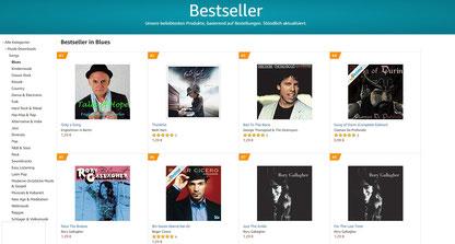 """Platz 1 - Bestseller in der Song-Kategorie """"Blues"""" !"""