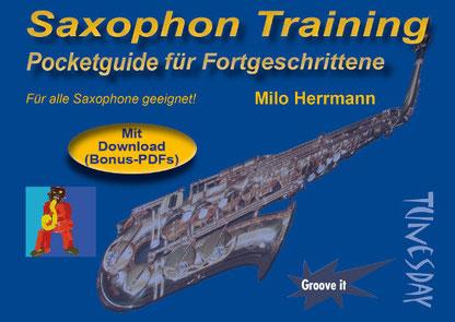 tägliche Warm Up Übungen für alle Saxophontypen geeignet!