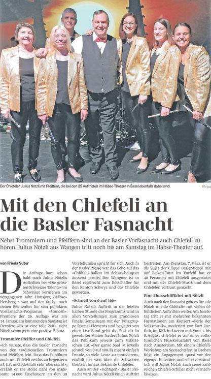 #Dä Nötzli mit dä Chlötzli #Julius Nötzli #Chlefele @Mimösli # Häbse Theater