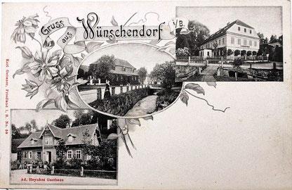Bild: Srbská Wünschendorf Böhmen
