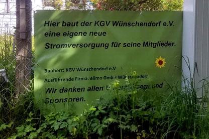 Bild: Kleingartenverein Wünschendorf