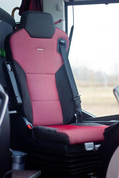 Der Fahrersitz