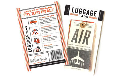 Herb Lester Luggage Tags