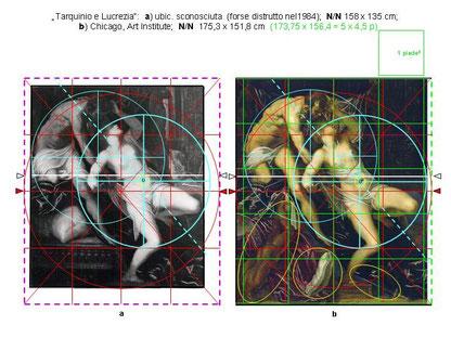 Version II und I im Vergleich und Rekonstruktion von II